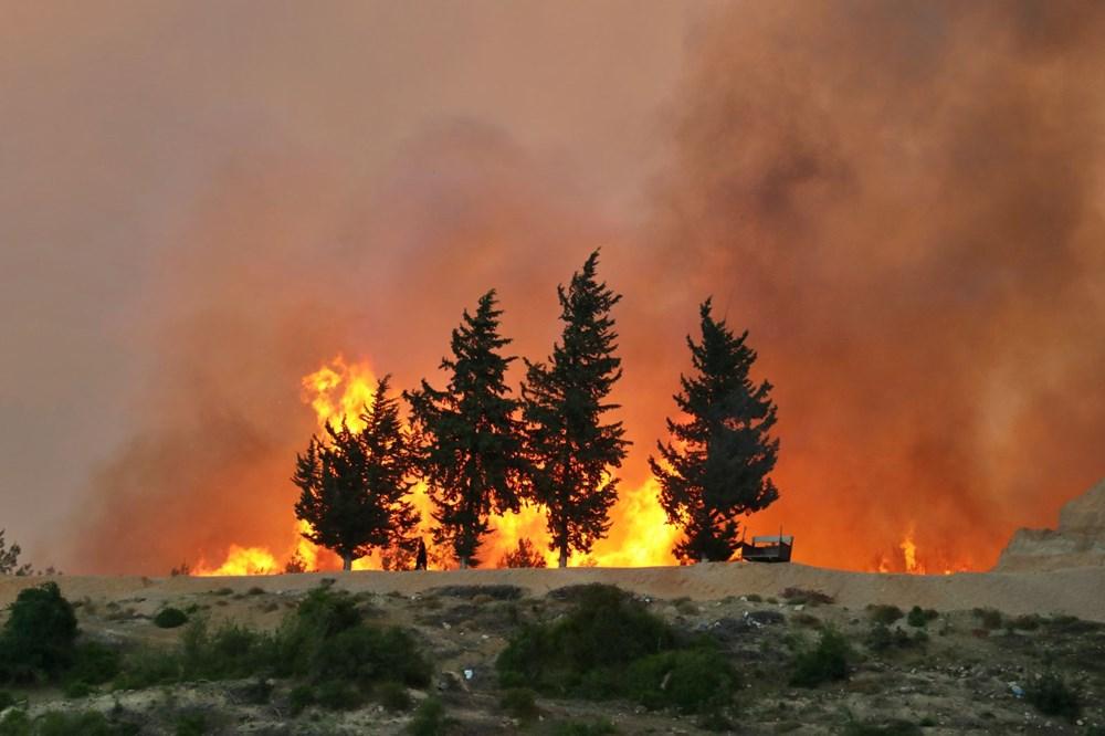 Adana'da orman yangını: 8 köy boşaltıldı - 1