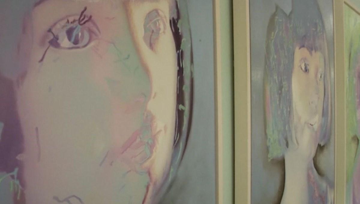 Robot ressam Ai-Da yeni sergisini açtı (İlk sergiden 1 milyon dolar kazanmıştı)