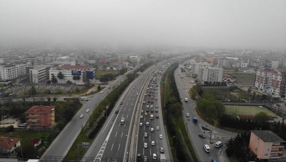 İstanbul'da, 'tam kapanma' öncesinde kaçış trafiği - 15