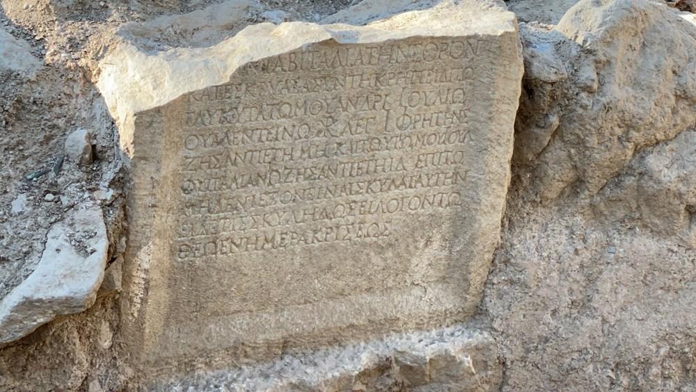 İznik'teki lahit mezarlarında 1500 yıllık mesaj bulundu - 3