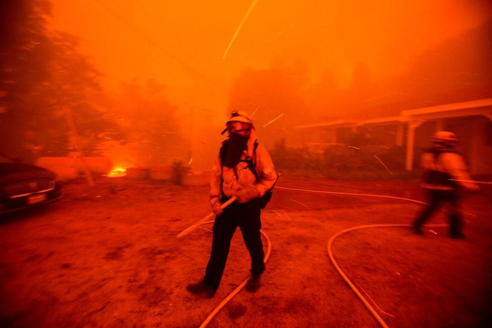 ABD'de 40 bin dönümlük yangın - 4