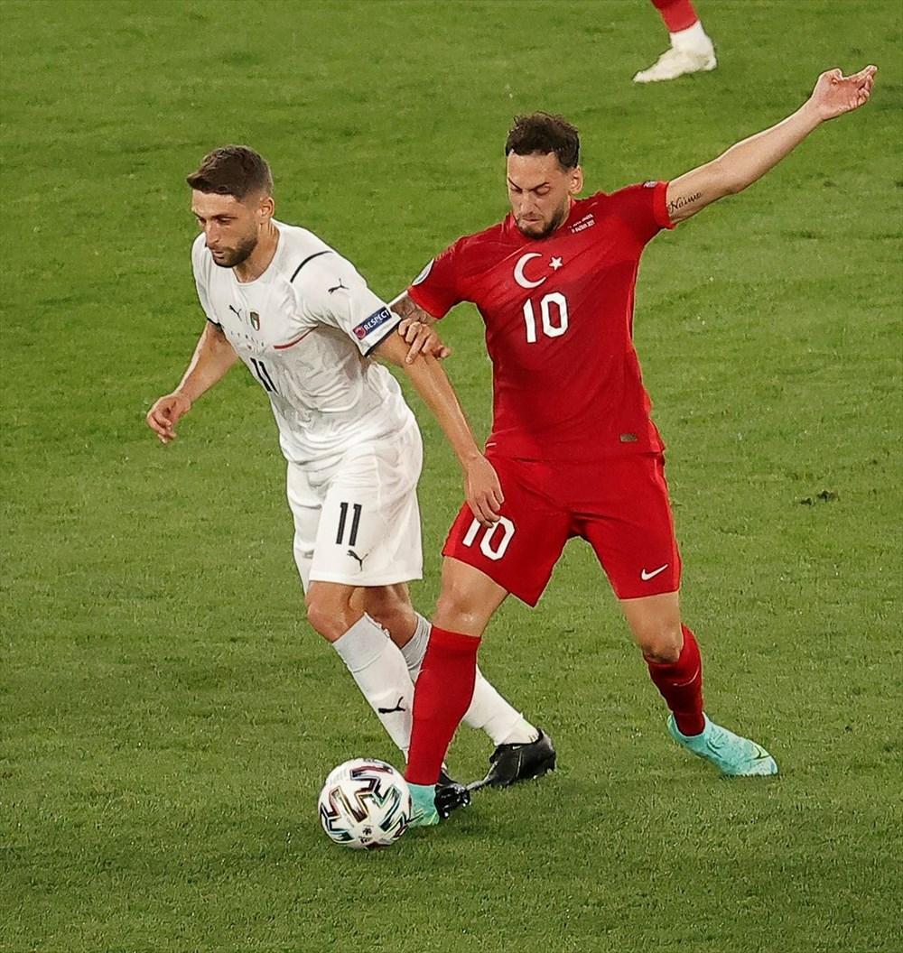 Milli Takım açılış maçında İtalya'ya yenildi (EURO 2020 - Türkiye:0 İtalya:3) - 5