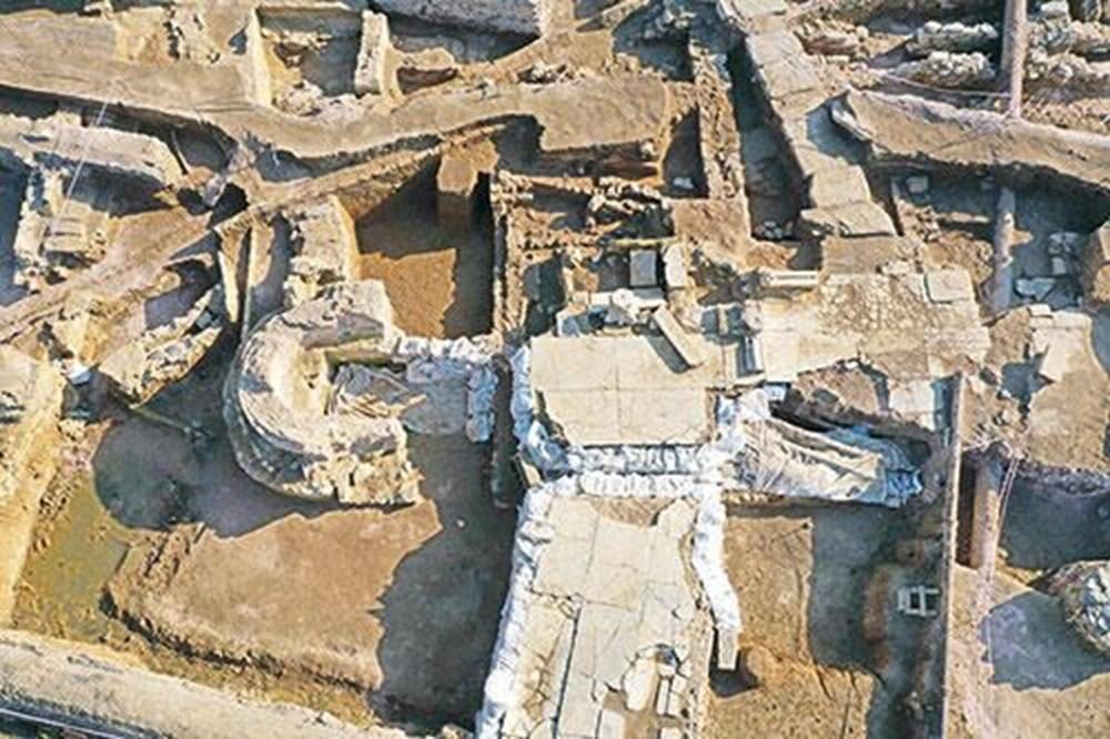 Haydarpaşa Garı kazılarında gizemli mermer yapı bulundu - 2