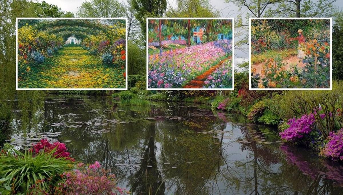 Claude Monet'nin bahçesi yeniden ziyarete açıldı