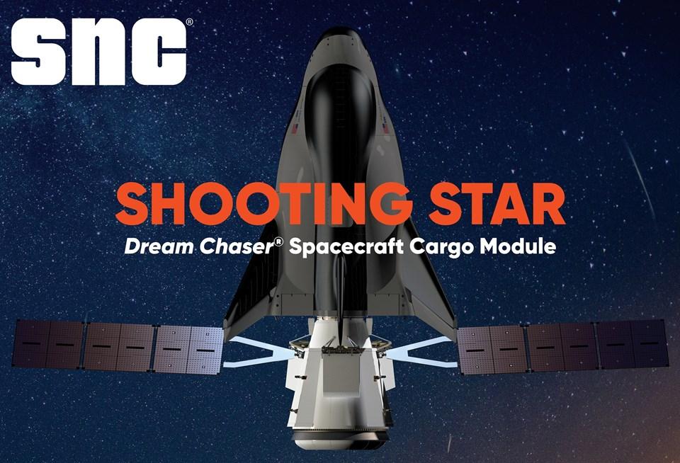 Dream Chaser Kargo Sistemi, NASA tarafından, Ticari Bütünleme İkmali Hizmetleri 2 (CRS-2) ihalesi kapsamında Uluslararası Uzay İstasyonu'na kargo gönderme ve elden çıkarma hizmetleri sağlamak üzere seçildi.