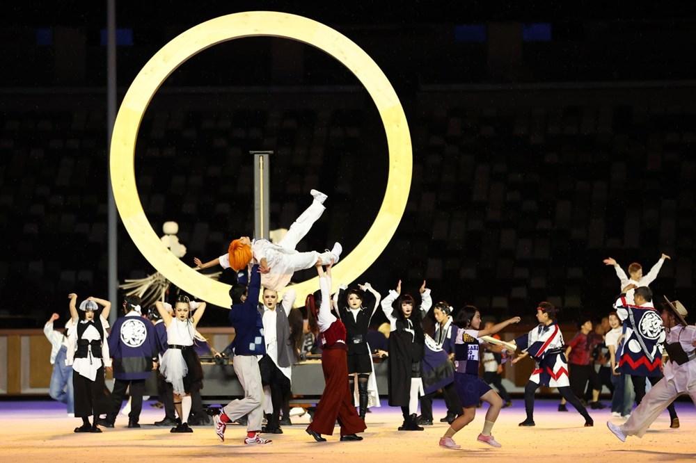 2020 Tokyo Olimpiyatları görkemli açılış töreniyle başladı - 52