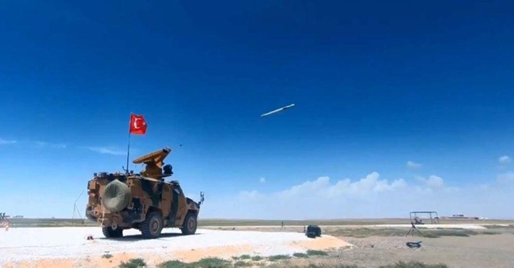 Silahlı drone Songar, askeri kara aracına entegre edildi (Türkiye'nin yeni nesil yerli silahları) - 47