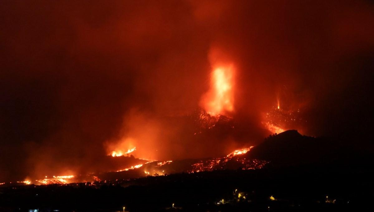 La Palma'da lavlar 100 kadar evi yuttu