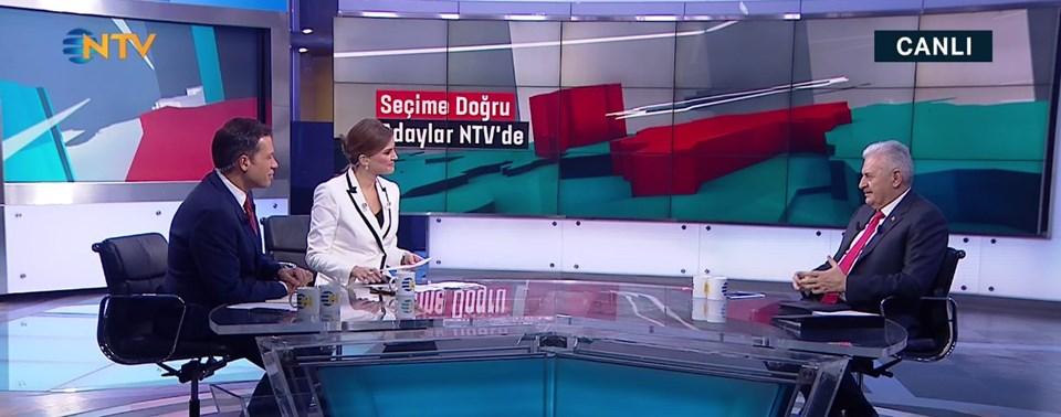 AK Parti'nin İstanbul adayı Binali Yıldırım, NTV canlı yayınında Ahmed Arpat ve Simge Fıstıkoğlu'nun sorularını yanıtladı.
