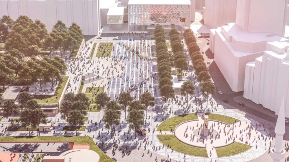 Taksim Meydanı Tasarım Yarışması sonuçlandı (Taksim Meydanı böyle olacak) - 7