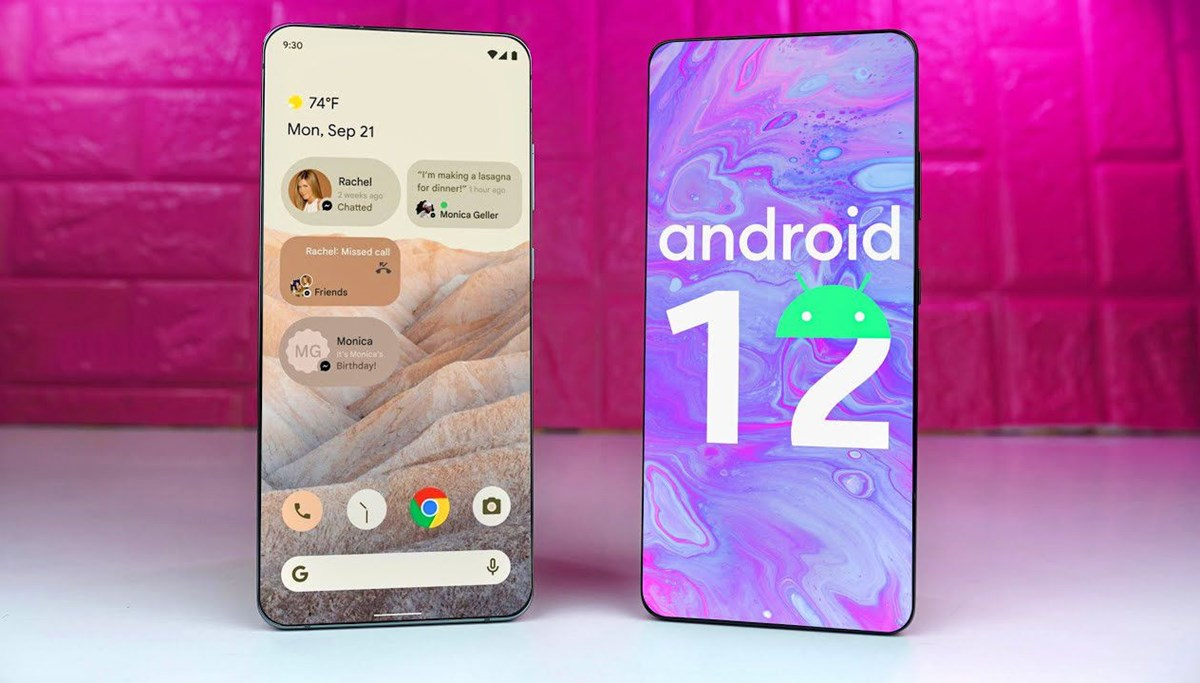 Android 12 güncellemesini alacak telefonlar
