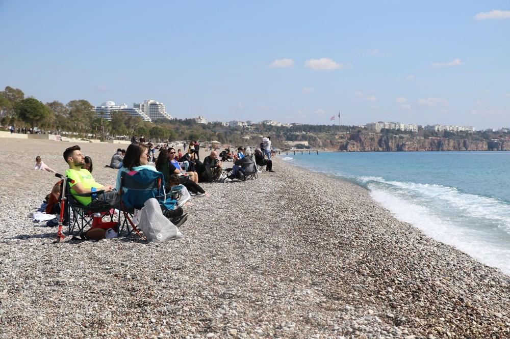 Kademeli normalleşmede 2. hafta sonu: Sahil ve parklar doldu - 17