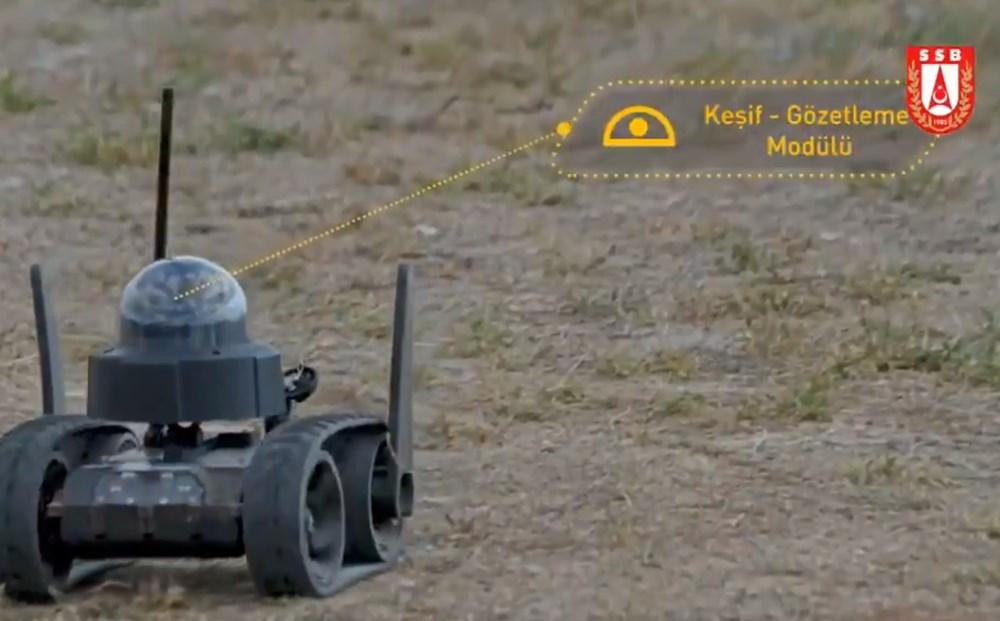 Dijital birliğin robot askeri Barkan göreve hazırlanıyor (Türkiye'nin yeni nesil yerli silahları) - 107