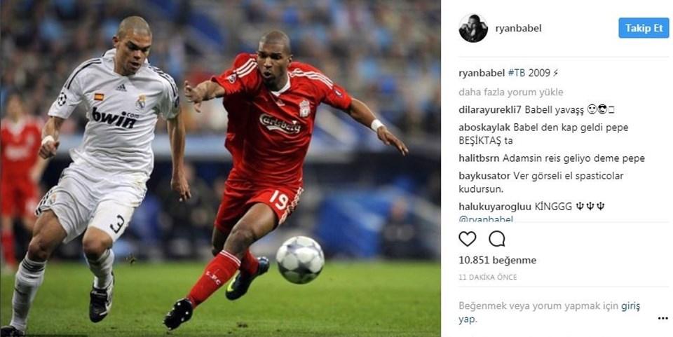 Pepe (Real Madrid)-Babel (Liverpool) 10 Mart 2009'daki bu maçı Liverpool 3-0 kazanmıştı.