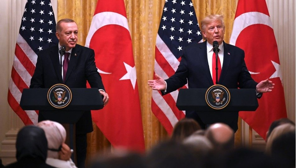 Cumhurbaşkanı Erdoğan'dan, ABD Başkanı Trump'a mesaj