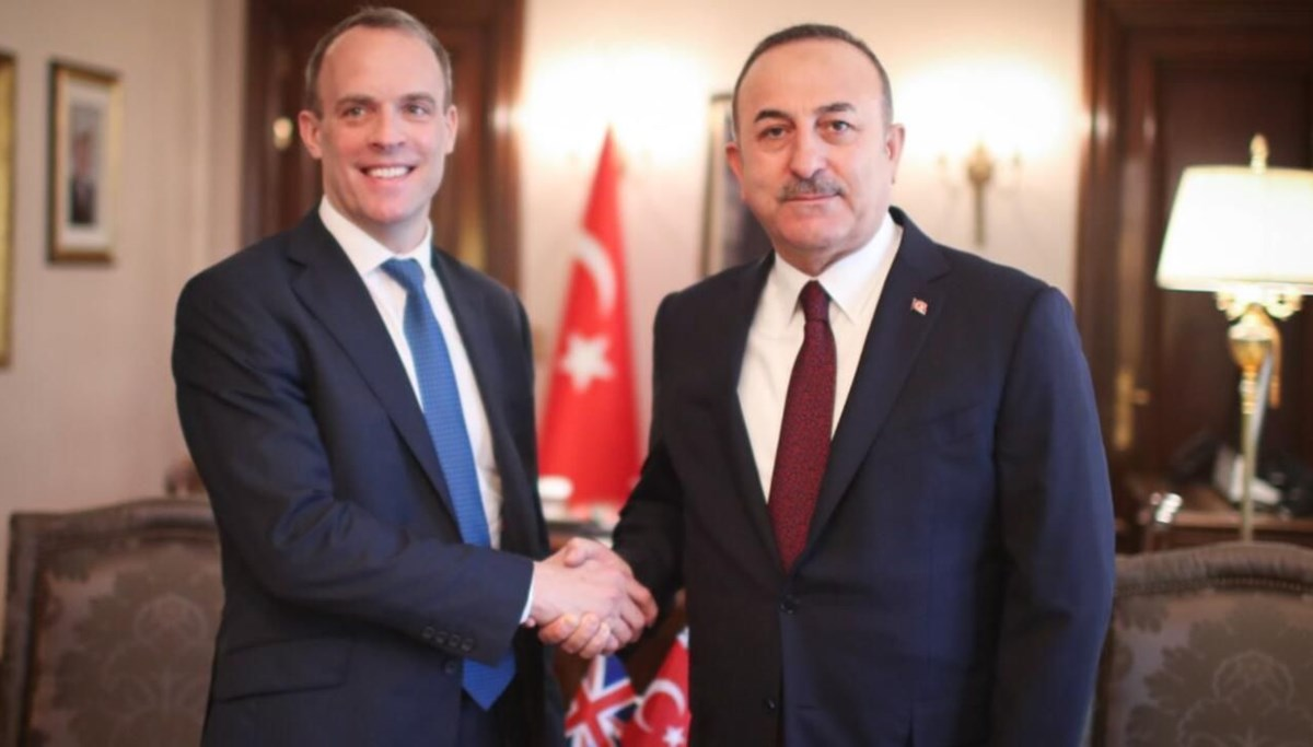 LAST MINUTE: Foreign Minister Çavuşoğlu met with his British counterpart