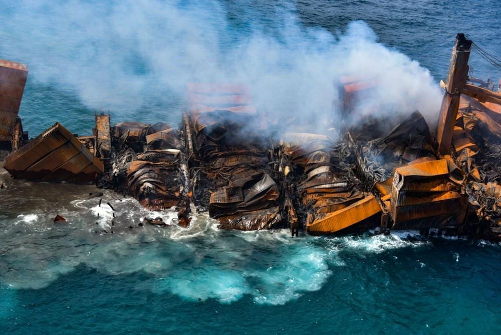 Kimyasal madde taşıyan gemi battı: Sri Lanka çevre felaketiyle karşı karşıya - 4