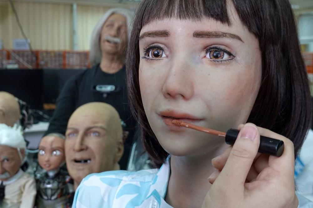 Robot Sophia'ya kardeş geldi: Robot hemşire Grace - 2