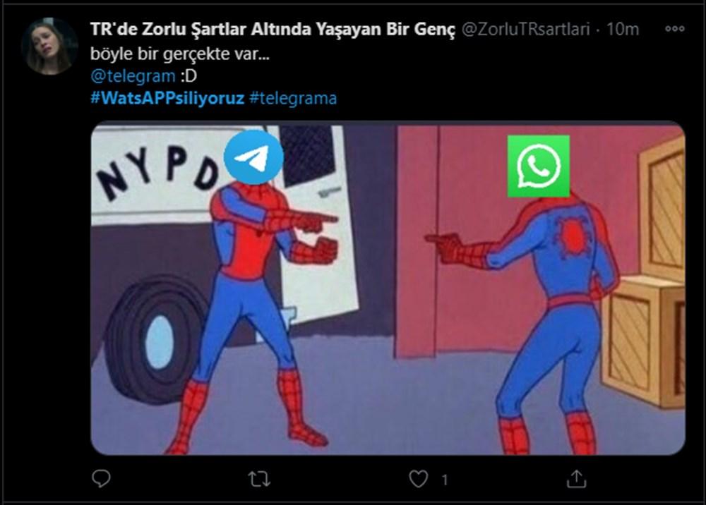 #WhatsAppSiliyoruz etiketine yapılan yorumlar güldürdü - 9