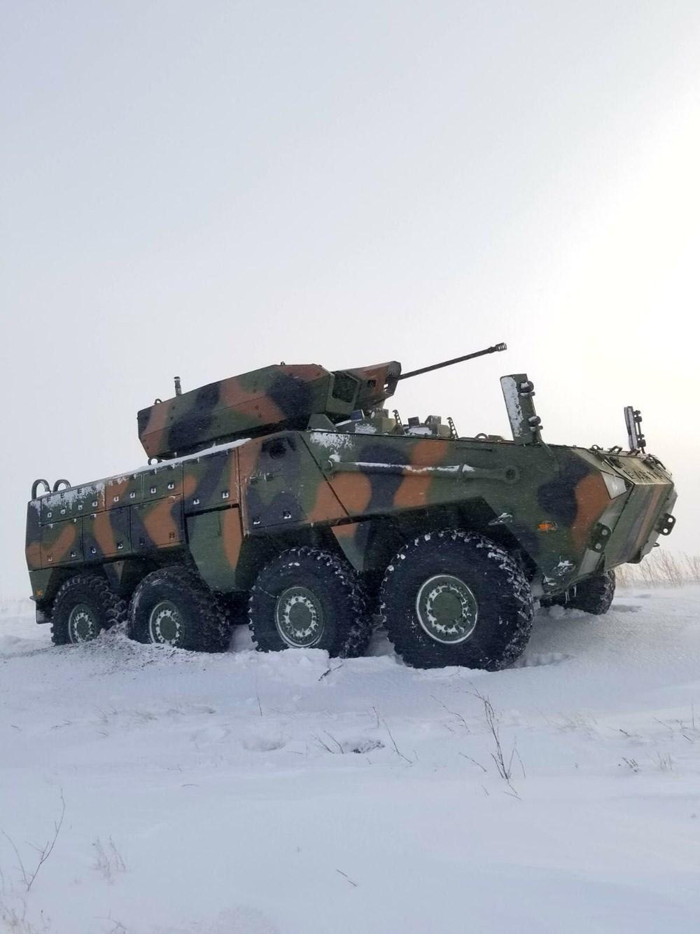 Dijital birliğin robot askeri Barkan göreve hazırlanıyor (Türkiye'nin yeni nesil yerli silahları) - 220