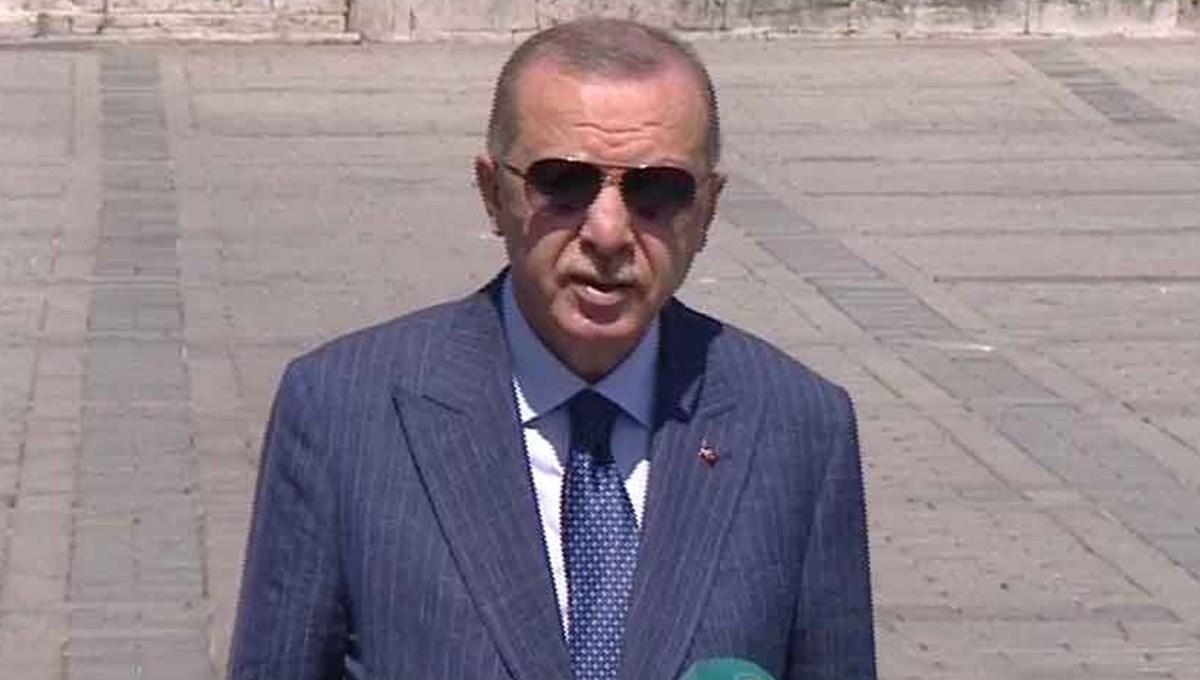 SON DAKİKA HABERİ: Cumhurbaşkanı Erdoğan konuşuyor