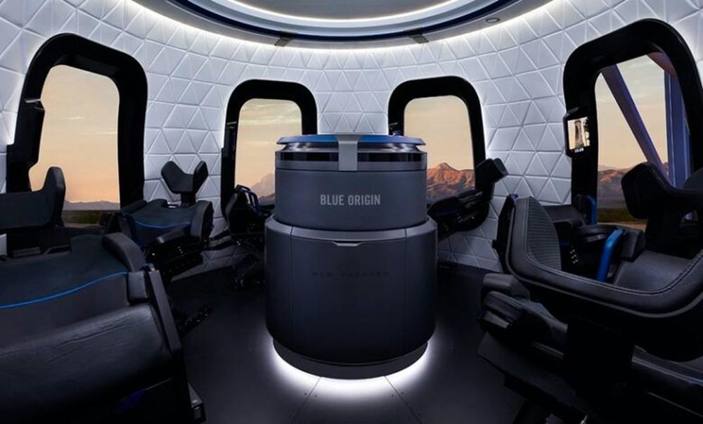 Blue Origin uzay için tarih verdi: 1 koltuk satışta - 4