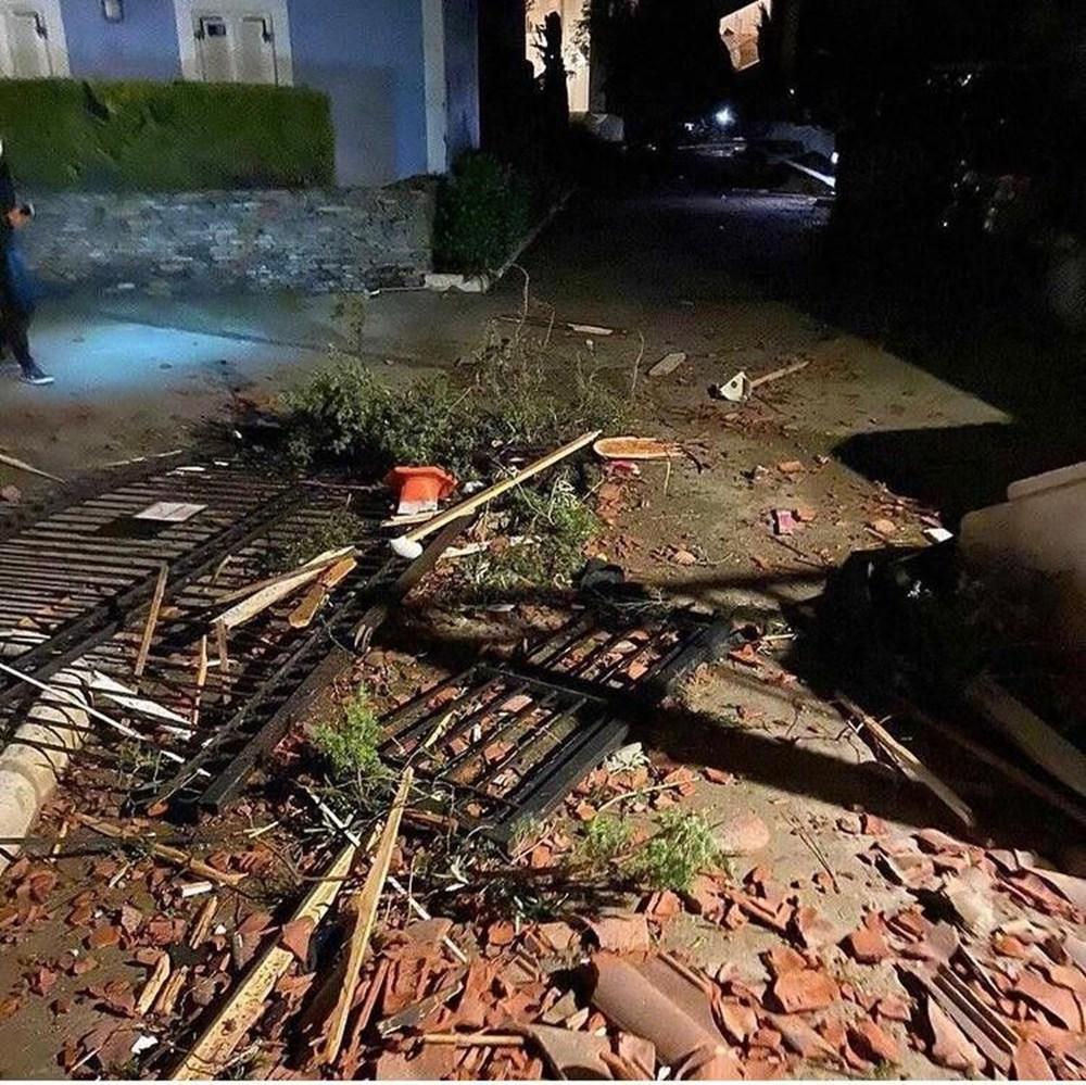 İzmir Alaçatı'da hortum: 16 yaralı - 1