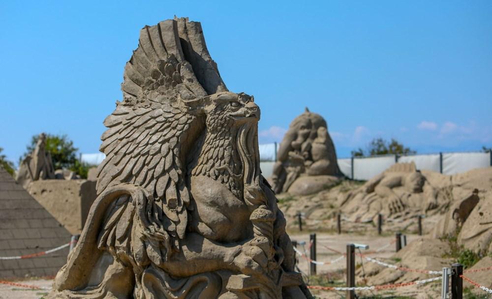 Atlantis, kum heykellerle canlanacak - 10