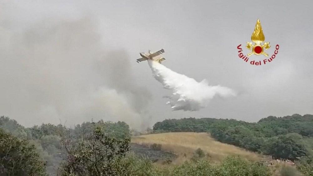 'Benzeri görülmemiş felaket': İtalya Sardunya Adası'nda yangın - 4