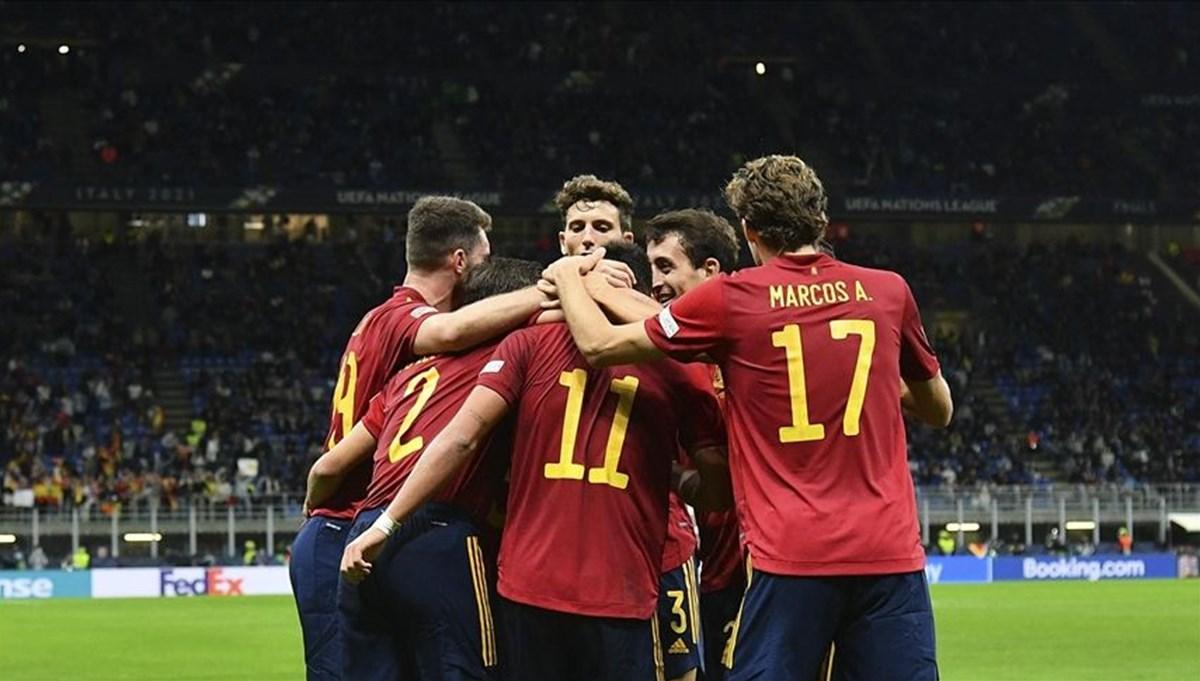 İspanya, UEFA Uluslar Ligi'nde finale çıktı: İtalya 1-2 İspanya