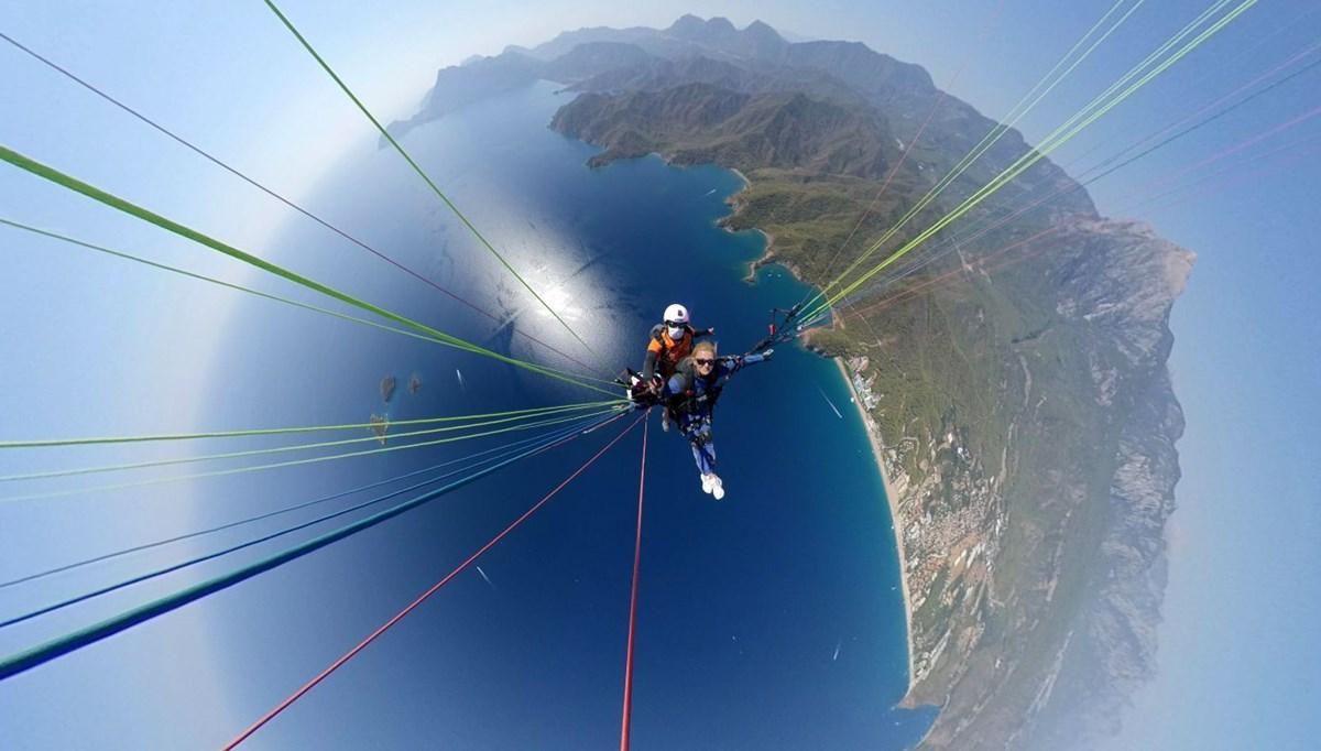Yamaç paraşütü uçuşlarına pandemi dopingi