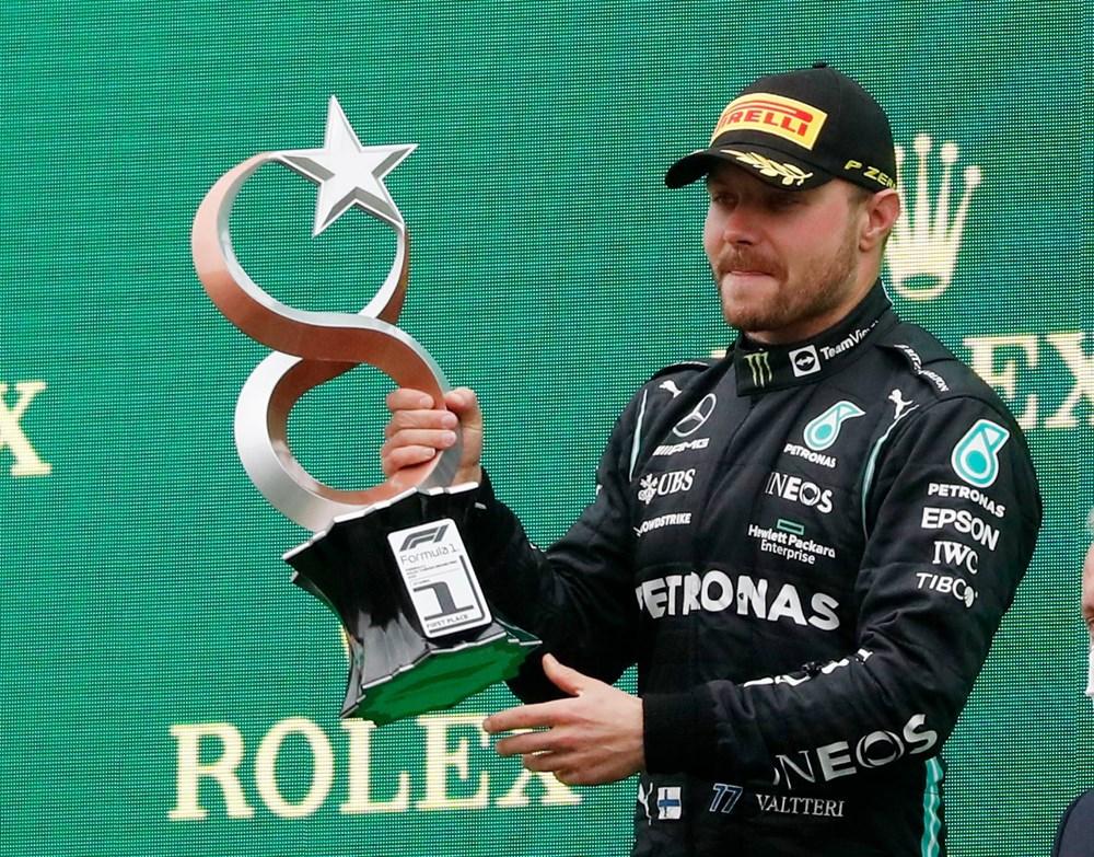 Formula 1 Türkiye Grand Prix'sinde kazanan Valtteri Bottas - 27