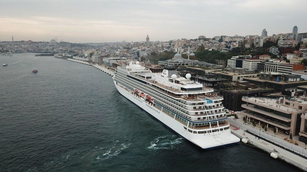 Galataport İstanbul'a ikinci yolcu gemisi demir attı - 11