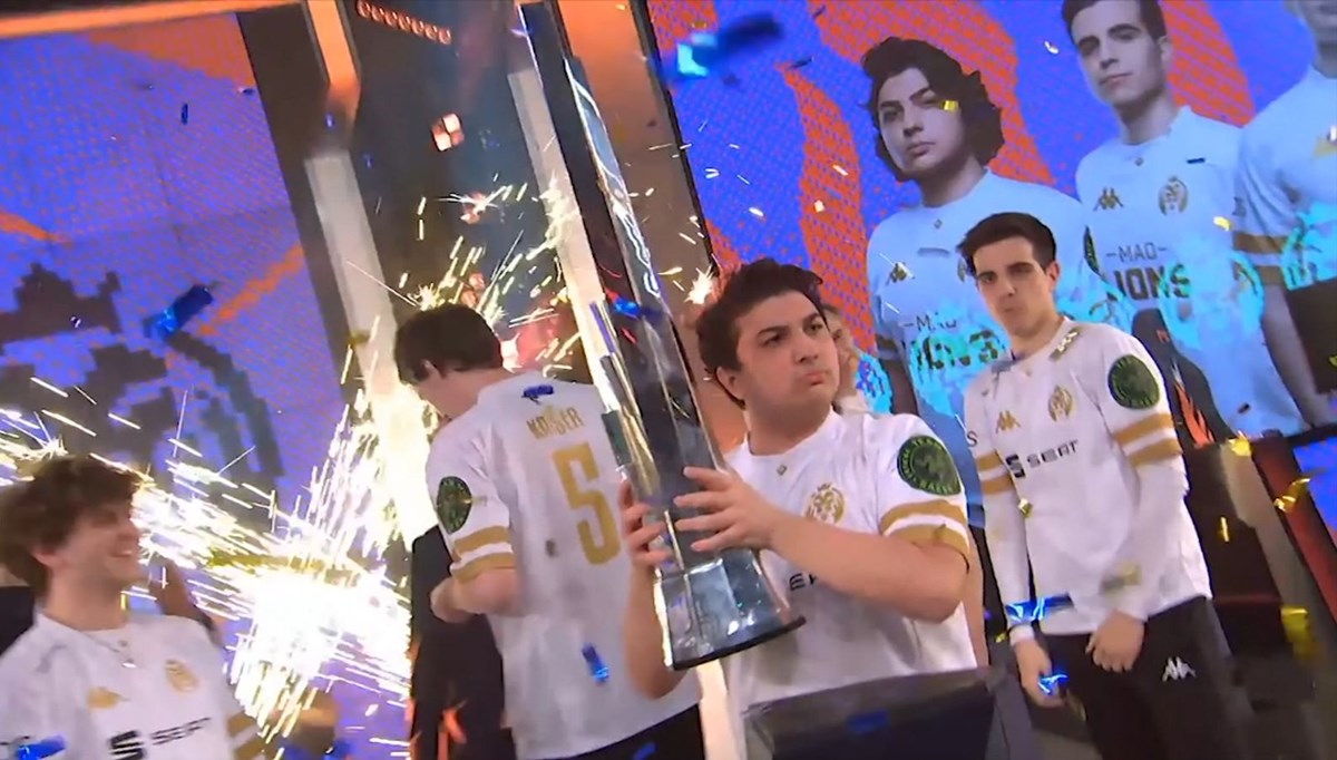 e-Spor'da Türk Avrupa şampiyonu