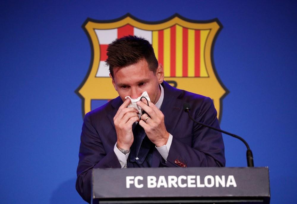 Bir devrin sonu: Lionel Messi, Barcelona'ya gözyaşları içinde veda etti - 9