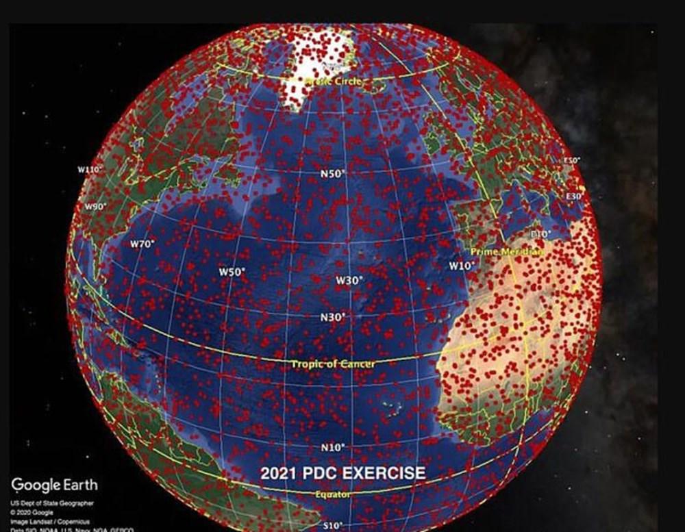 NASA, asteroit simülasyonun sonuçlarını yayınladı: Türkiye detayı - 11