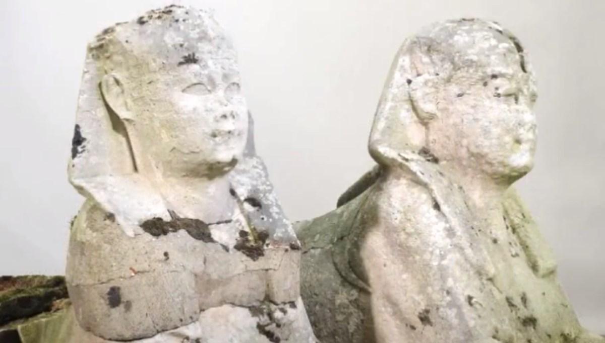 Bahçe süsü heykeller eski Mısır kalıntısı çıktı: 2 milyon 500 bine satıldı
