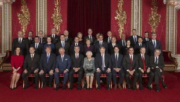 Cumhurbaşkanı Erdoğan, Kraliçe'nin resepsiyonuna katıldı