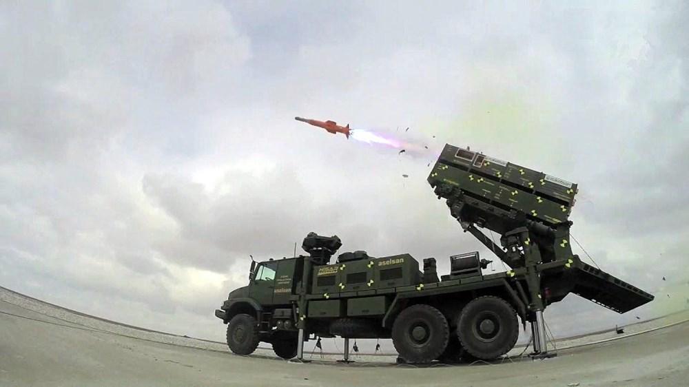 TSK'nın yeni roketatarı 12'den vurdu - 250