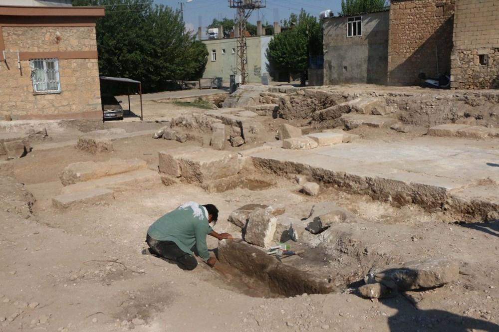 Perre Antik Kenti'nde bin yıllık iskelet bulundu - 5