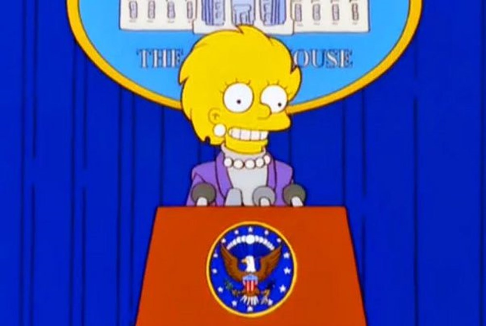 Simpsonlar'ın (The Simpsons) kehaneti yine tuttu: Biden ve Harris'in yemin törenini 20 yıl önceden bildiler - 29