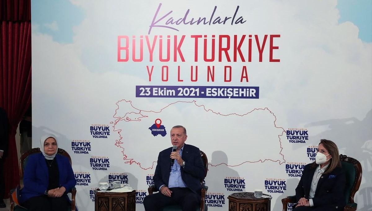 Cumhurbaşkanı Erdoğan: Kadınlarımızın her alanda temsil düzeyi arttı
