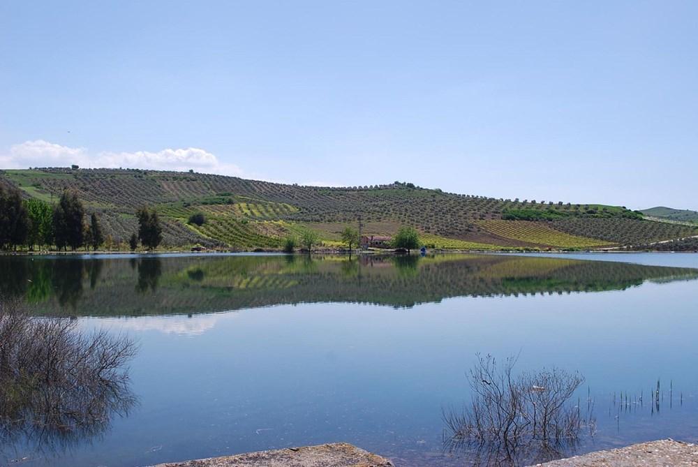 'Kuş cenneti' Marmara Gölü'nde derinlik 40 santimetreye düştü - 17
