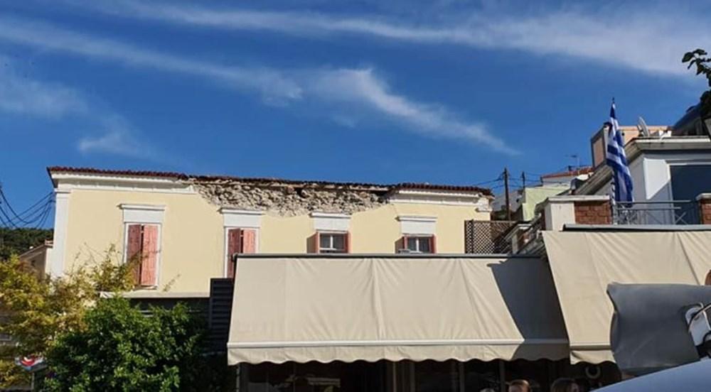 Depremin vurduğu Yunan adası Sisam'da son durum - 19
