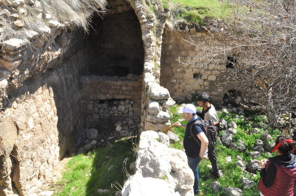 Şırnak'ta bin 700 yıllık manastır keşfedildi - 2