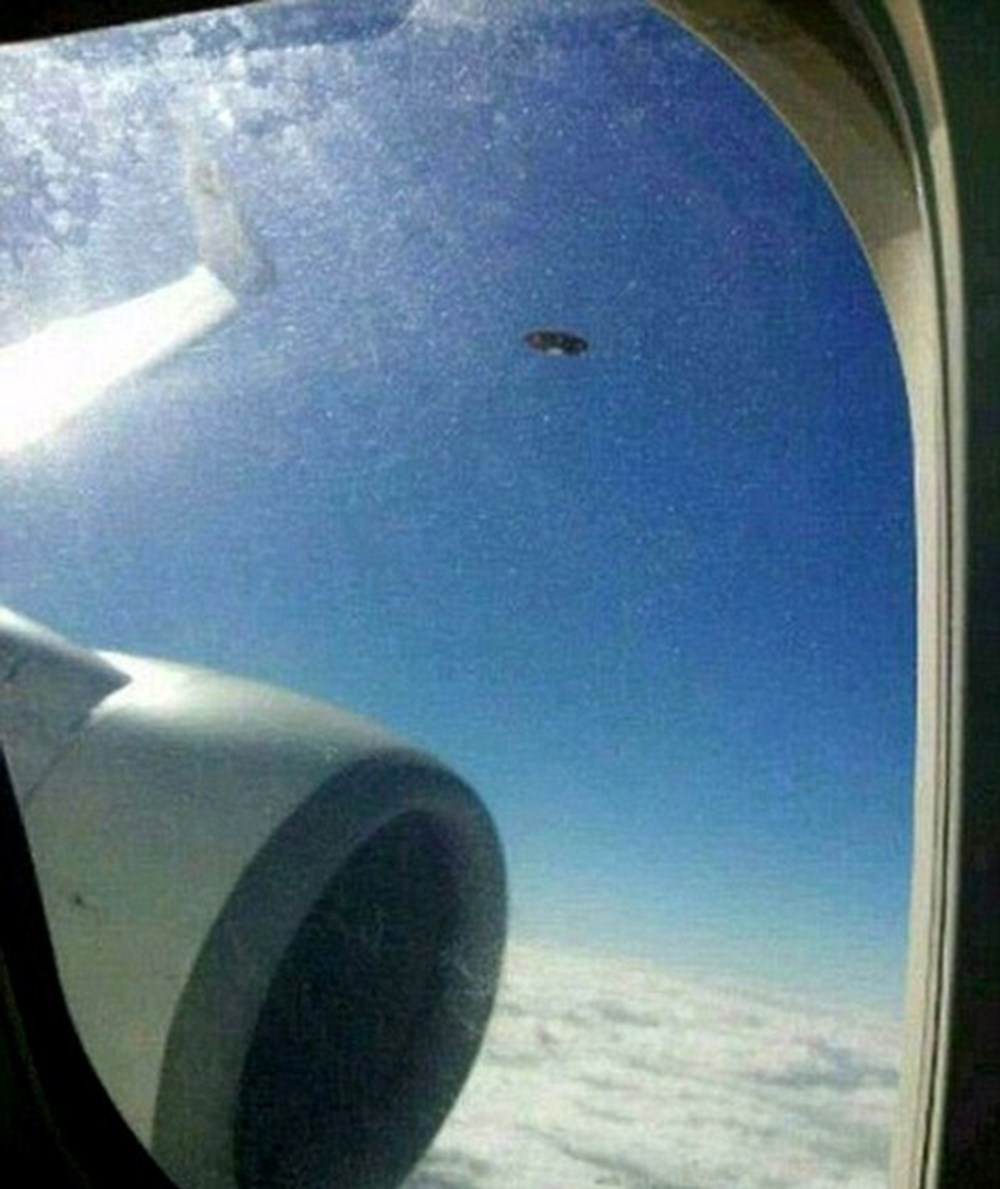 Pentagon'dan 'UFO' raporu (Savaş pilotunun çektiği fotoğraf sızdı) - 18