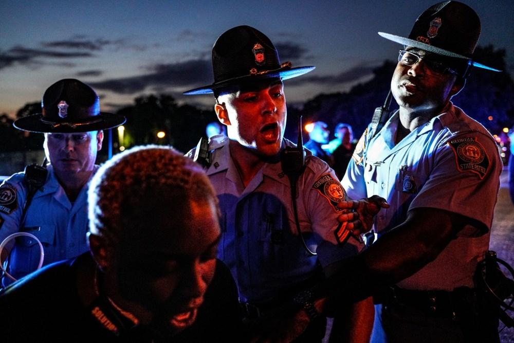 ABD'de yine polis şiddeti (Atlanta kenti karıştı) - 11
