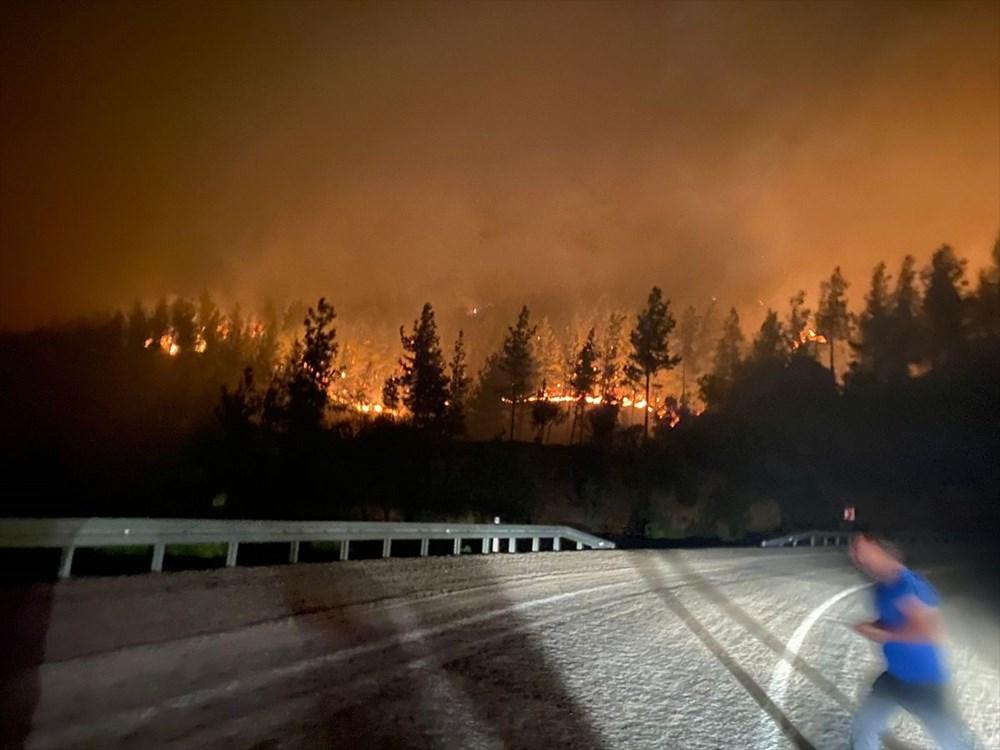 Antalya, Adana, Mersin, Aydın, Muğla, Osmaniye, Kayseri ve Manisa'da orman yangınları - 36