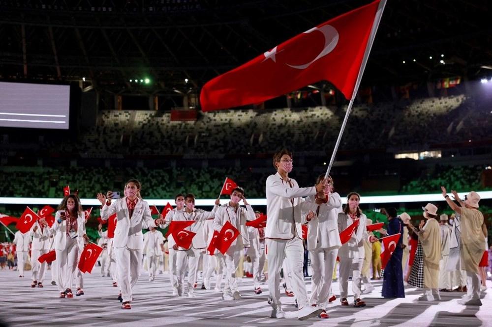 2020 Tokyo Olimpiyatları görkemli açılış töreniyle başladı - 19