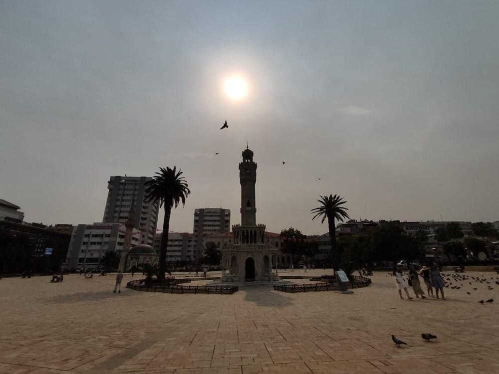 İzmir'de bulanık gökyüzü korkuttu - 10